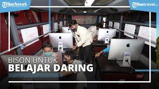 Undika Memberikan Fasilitas Bus Online untuk Belajar Daring, Keliling 3 Kecamatan Kota Surabaya