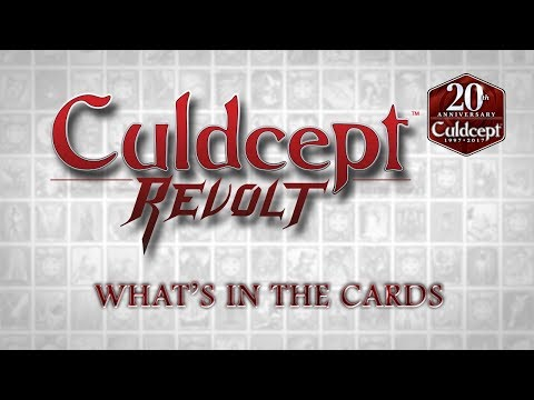 Culdcept Revolt — What's in the Cards Trailer (Nintendo 3DS) thumbnail