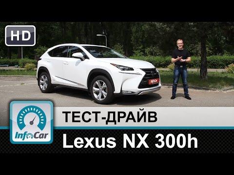 Lexus Nx 300h Паркетник класса J - тест-драйв 1
