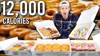 I TRIED TO EAT EVERY DONUT AT KRISPY KREME!