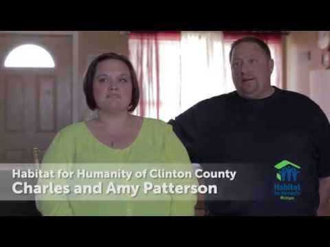Play Habitat for Humanity of Clinton County's Charles and Amy Patterson