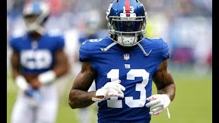 "Odell Beckham Jr. ||"" Used to this""