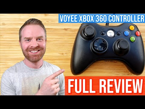 VOYEE Xbox360 / PC / Raspberry Pi wired controller review - Should you buy it?