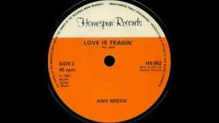 Ann Breen - Love Is Teasin' [1981]