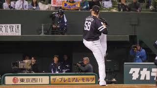福岡ソフトバンクホークスデニス・サファテ投球フォームスローモーション