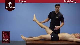 Iliopsoas Muscle Test Vizniak