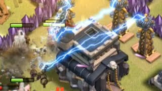 Clash of Clans Clan Wars - Town Hall 9, and Attacking Higher Town Halls! Episode 109