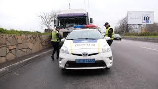 В Днепре полиция ловит угонщика