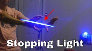 Slowing Down Light to Make a Real Star Wars Laser Gun