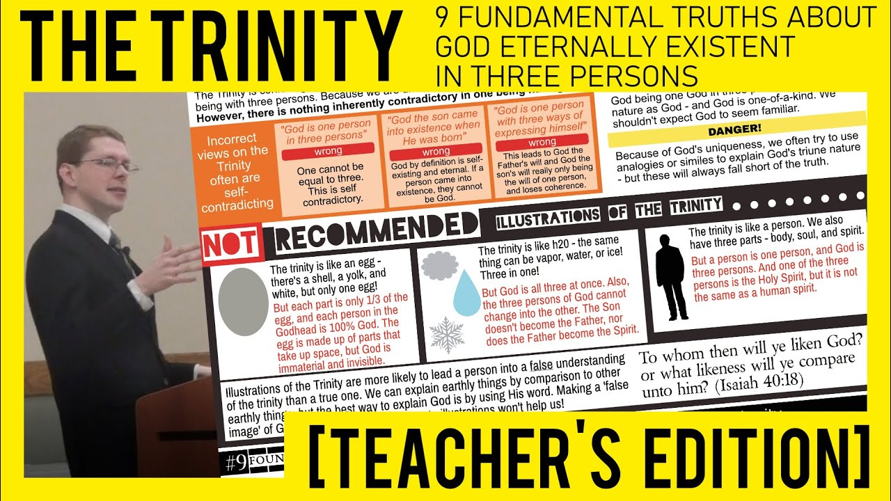 Teacher's Edition: The Trinity