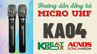 Loa Karaoke mini xách tay ACNOS CS200PU