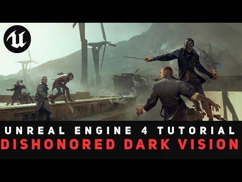 UE4] Dishonored - Dynamic Crouching & Sliding - игровое