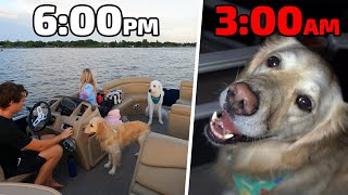WE SPENT THE NIGHT ON THE BOAT! (Super Cooper Sunday #244)