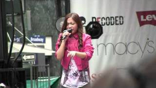 "Charice Pempengco - ""Reset"" - Macy's Back to School Concert (Aug. 15th 2010)"