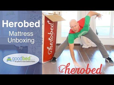 Herobed Mattress Unboxing (VIDEO)