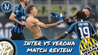 Inter 2-1 Hellas Verona Review | Barella Screamer Wins Inter The Game
