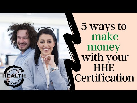 5 Ways to Make Money with a Holistic Health Certification from ...