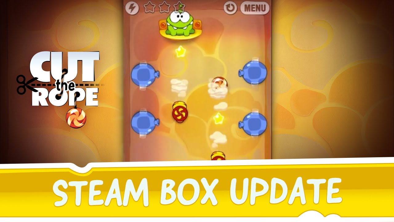 Cut The Rope Has A Steam Box, And It's Free