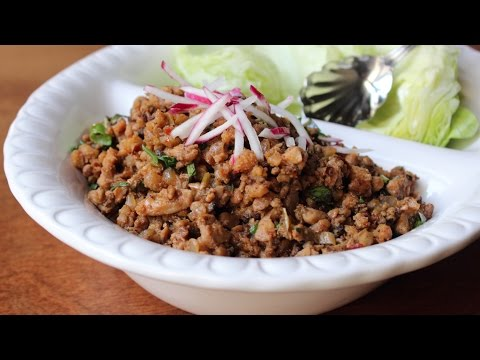 Chicken Lettuce Wraps – How to Make Spicy Chicken Lettuce Wraps at Home