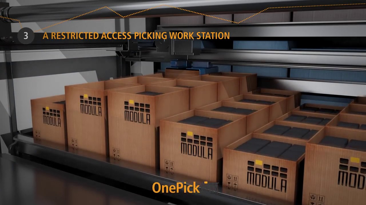 Modula OnePick:2 Machines in 1: stockagelift én verdeelautomaat