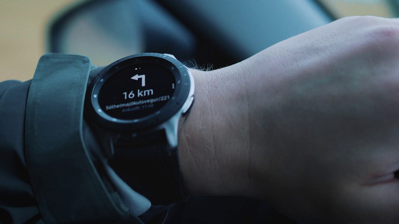 Samsung Galaxy Watch: GPS
