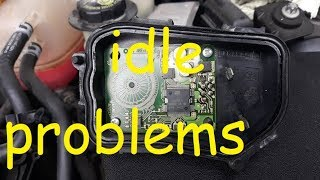 Opel/Vauxhall Vectra C Idle Problems / Opel Throttle Body Potentiometer Fix Repair