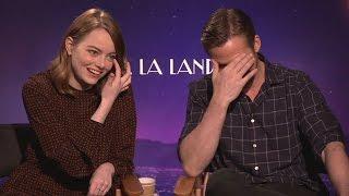 Emma Stone And Ryan Gosling  Interview  La La Land