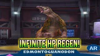 HP REGEN MACHINE! NEW 1.6 EPIC HYBRID EDMONTOGUANODON! | Jurassic World Alive