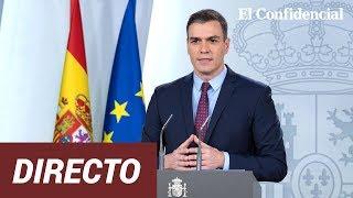 Pedro Sánchez preside la firma del Acuerdo Social con CCOO y UGT para extender los ERTE #coronavirus