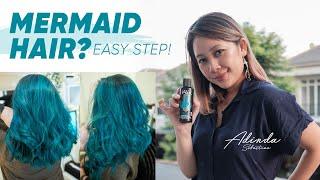 Cat Rambut Hijau Tosca (Turquoise) | Mermaid Hair | By Dinzy Hair
