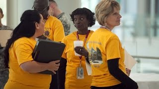 Volunteers at Martin Army Community Hospital Keep things Running Smoothly