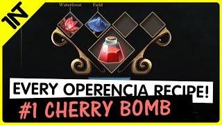 Operencia: The Stolen Sun Cherry Bomb Recipe #1