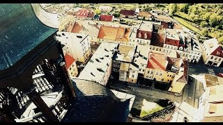 preview picture of video 'Barczewo z lotu ptaka - DRON / Barczewo aerial movie - DRONE'