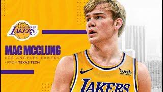 속보: Lakers는 텍사스 테크 스타인 Mac McClung과 계약을 맺었습니다!