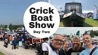 Crick Boat Show 2018 - Day Two - Looking for our next Narrowboat.