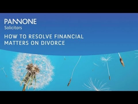 How to Resolve Financial Matters on Divorce
