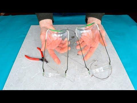 Cortar botellas y tarros de cristal (Nuevo método).