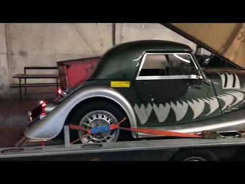 video Morgan Roadster Lightweight On The Road To The Race