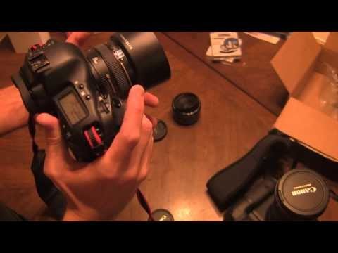Canon 50mm 1.8 vs. Canon 50mm 1.4   Part 1: Unboxing