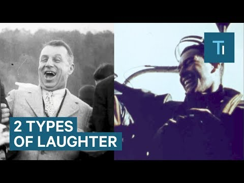 Differences Between Types of Laughter