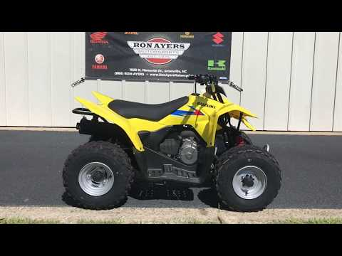 2019 Suzuki QuadSport Z90 in Greenville, North Carolina - Video 1