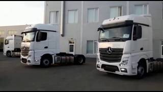 Новые Mercedes-Benz Actros