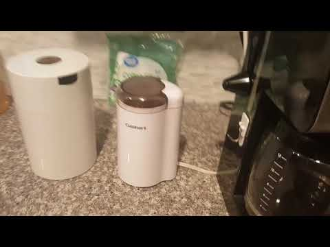 How to use this Cuisinart coffee maker and coffee grinder