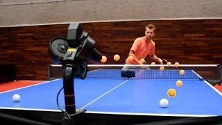 Ping Pong ROBOT BATTLE ft. Michael Maze