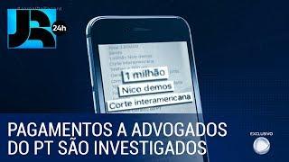MP INVESTIGA PAGAMENTOS DE FACÇÃO AO PT E ONG