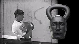 Vladimir Putin is lifting kettlebells (kettlebell sport long cycle)