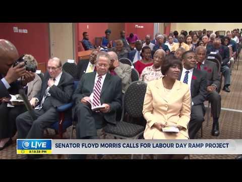 Senator Floyd Morris calls for Labour Day Ramp Project