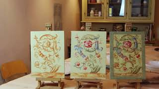 Advanced Decorative Painting Class -Grottesca