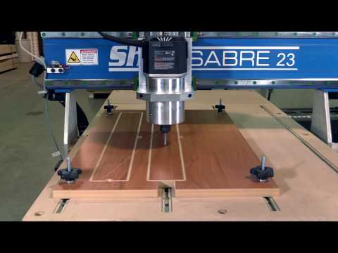 ShopSabre CNC Mini Banjo Neck Productionvideo thumb