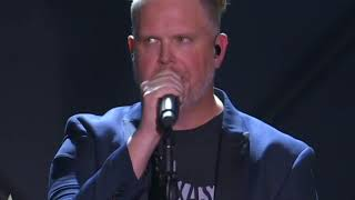 """MercyMe Performs  """"Even If""""  With Testimony"""